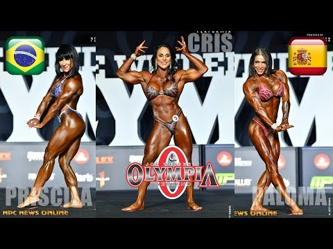 MR OLYMPIA 2018 WOMEN'S PHYSIQUE (TOP 26) OFFICIAL RESULTS