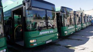 У Дніпрі на маршрут вийдуть дванадцять автобусів великої місткості