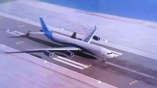 【EXTREME LANDINGS】スペインの空港をエアバスA340で離陸してみた
