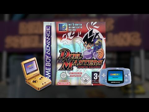 Gameplay : Duel Masters: Sempai Legends [Gameboy Advance]