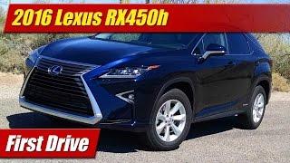 2016 Lexus RX450h: First Drive