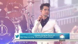 Panic! At The Disco performs Pray For The Wicked Live on Today