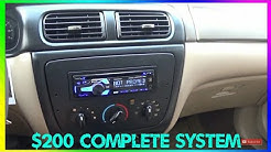 Wal-Mart Complete Stereo System In 2018 [Deck, Sub, Amp]