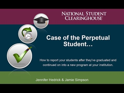 Enrollment Reporting: The Case of the Perpetual Student