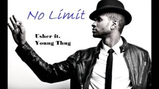 Usher ft. Young Thug - No Limit (Complete Song; Lyrics on the Subtitle)