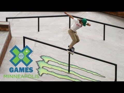 Aori Nishimura wins Women's Skateboard Street gold | X Games Minneapolis 2017