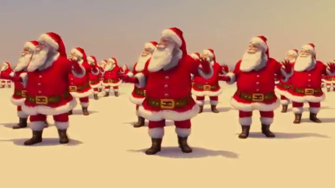 Christmas Dancing Santa.Santa Claus Dancing Jingle Bell Rock Brenda Lee 1958 Topaz 2015