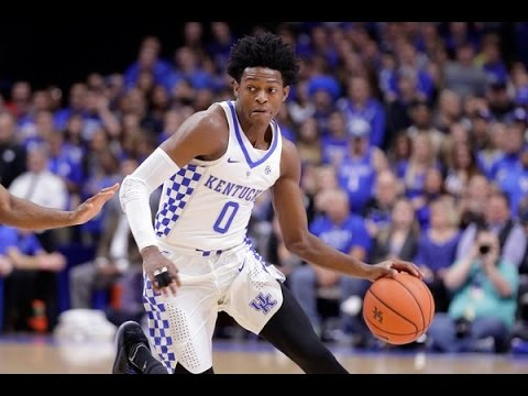 De'Aaron Fox - Kentucky Highlights 2017
