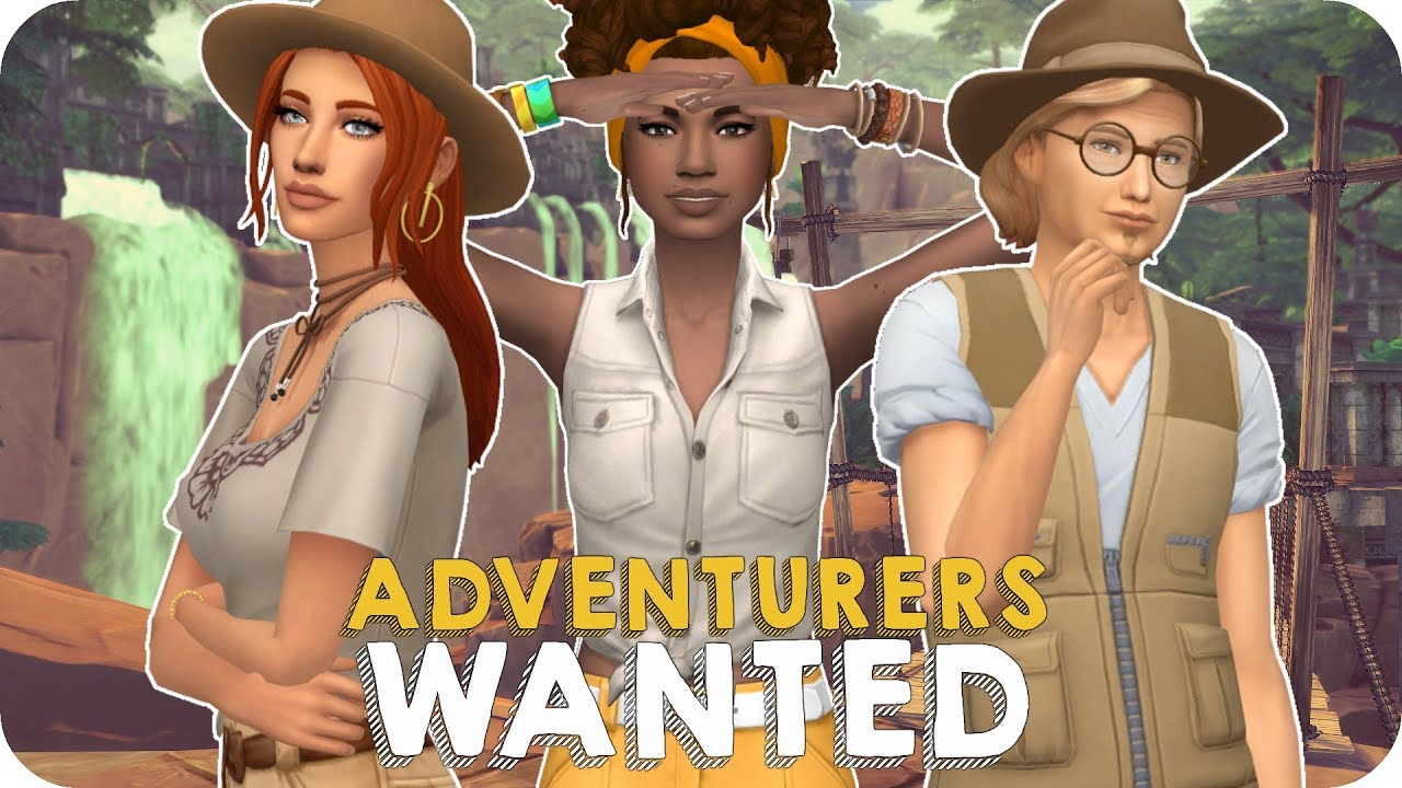 adventurers wanted let 39 s play sims 4 jungle adventure ep. Black Bedroom Furniture Sets. Home Design Ideas