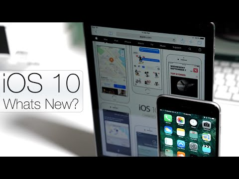 iOS 10 is Out! - What's New?