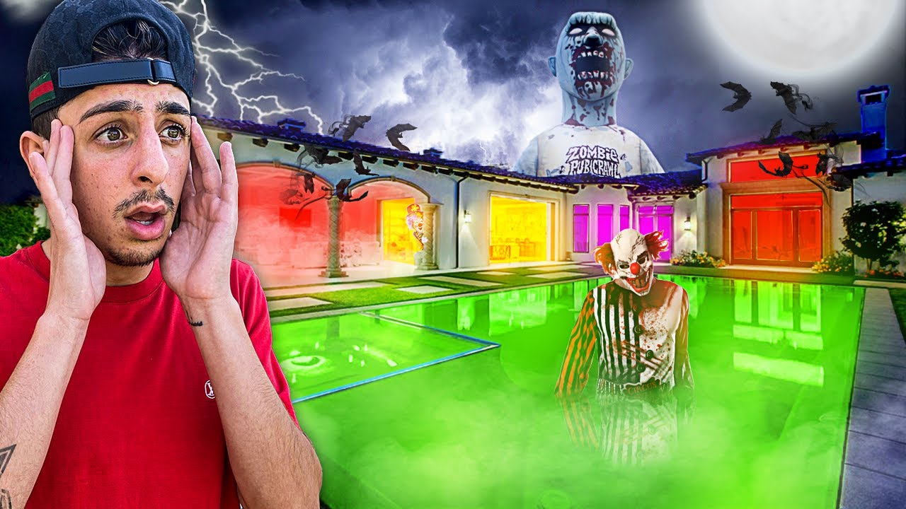 I Turned My House Into A REAL Haunted Mansion! **SCARY**