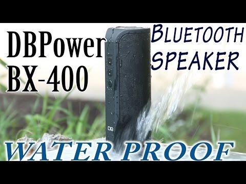 REVIEW: DBPOWER® BX-400 waterproof Stereo Bluetooth Speaker