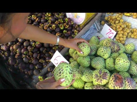 Atemoya, Mangosteen, Rambutan, and Durian for Sale | Video