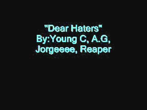 Dear Haters ( Prod. By SFTraxx )