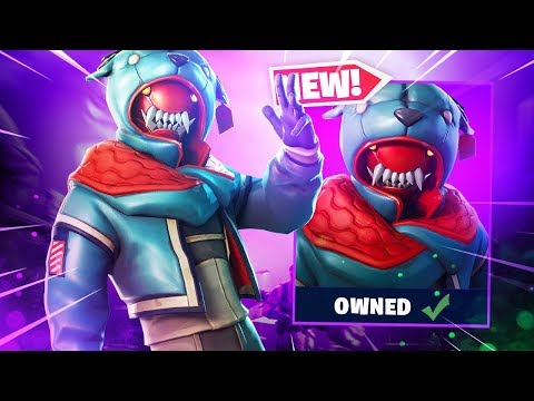 The New GROWLER SKIN Gameplay In Fortnite..