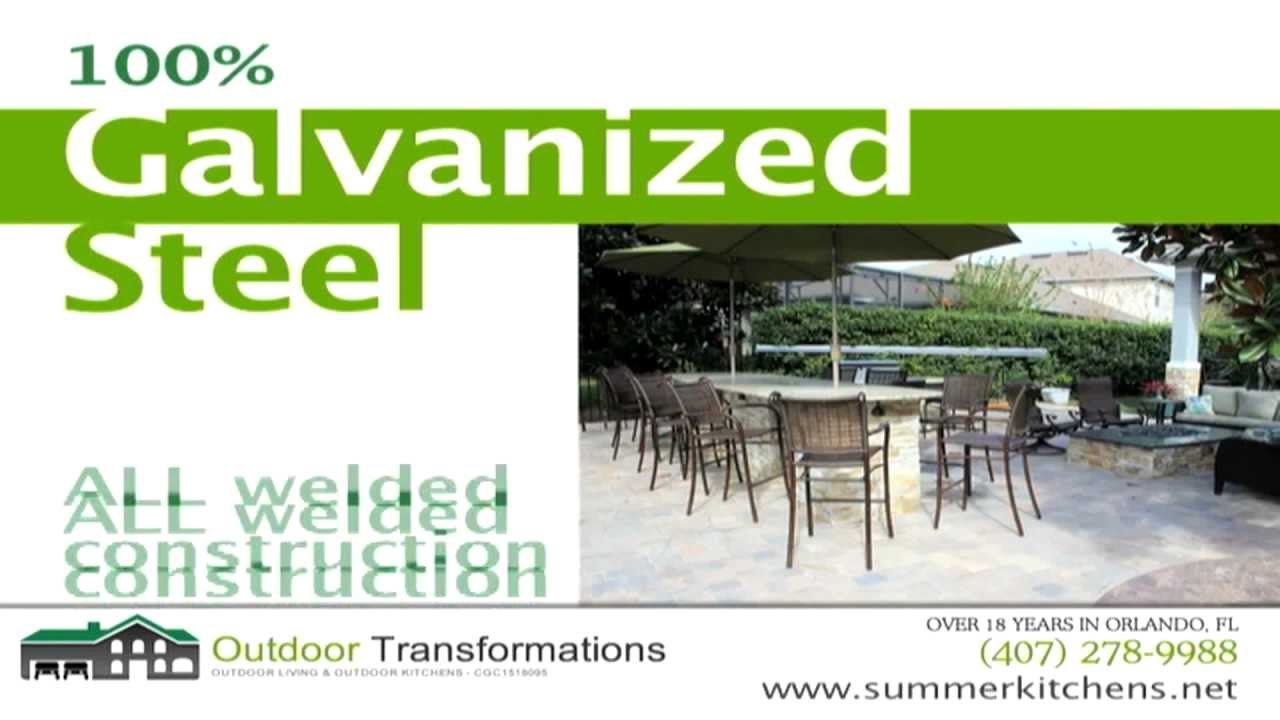 Outdoor Kitchens Orlando Outdoor Transformations Youtube