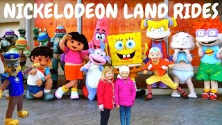Nickelodeon Land Rides Full Tour at Blackpool Pleasure Beach 2017