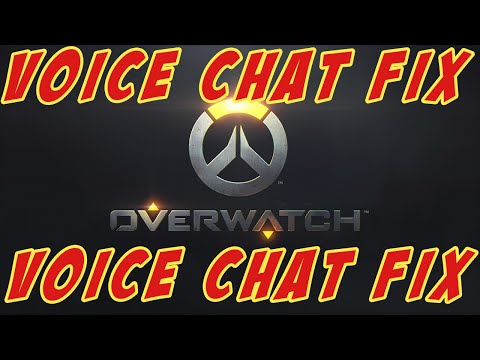 Overwatch Voicechat FIX ! How To Activate Voice Chat.