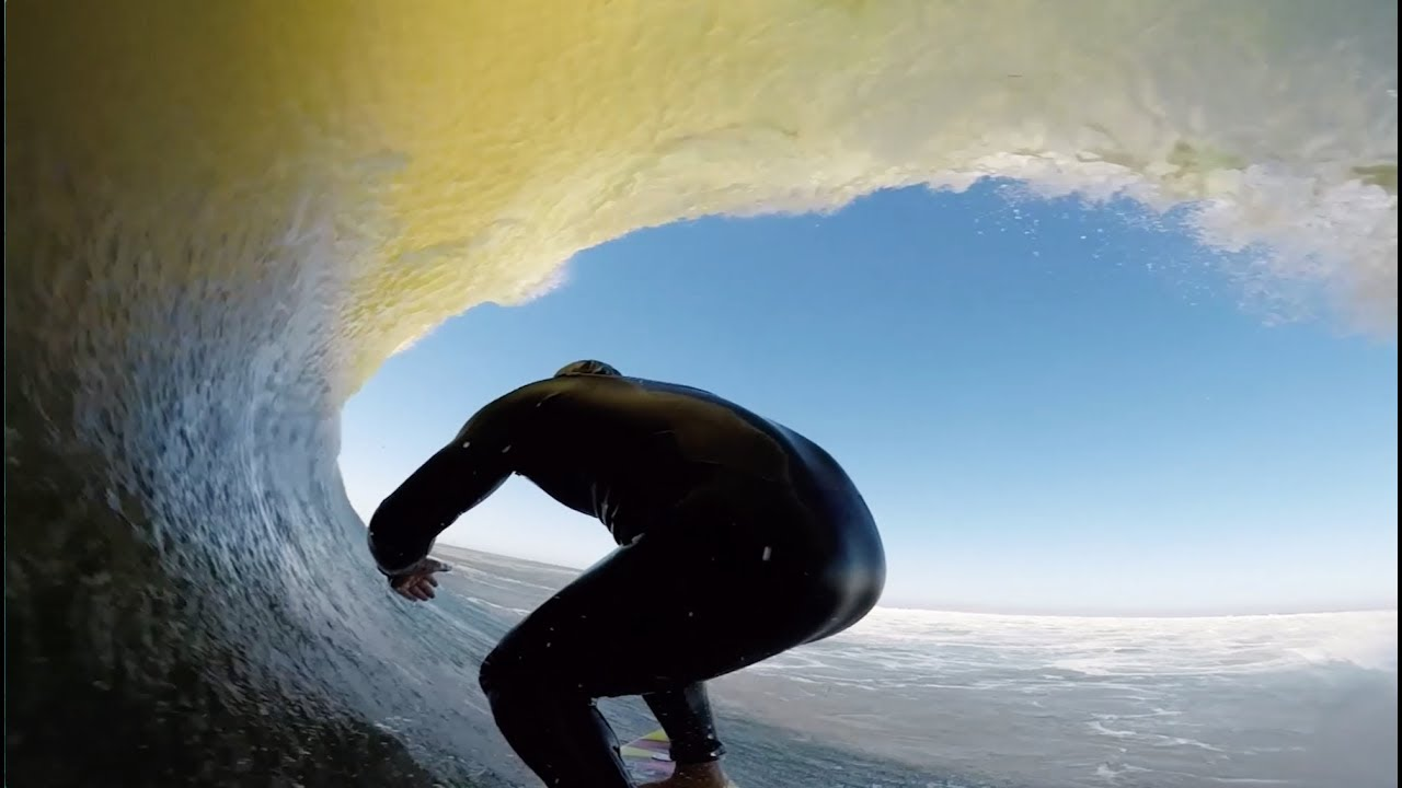 Skeleton Bay with Anthony Walsh and his GoPro