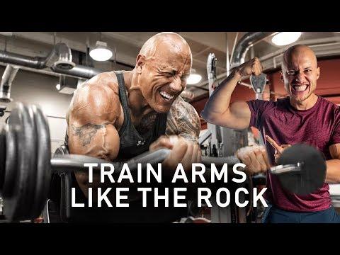 The Rock's Arm Workout | Johannes Bartl