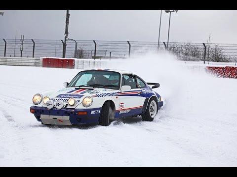 NÜRBURGRING Porsche 911 SCRS Snow Drifting