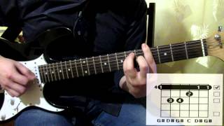 Scorpions Humanity cover how to play guitar lesson chords