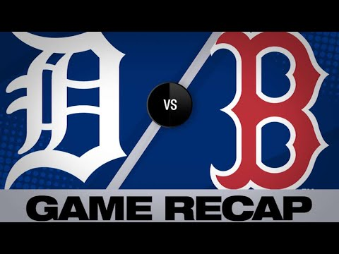 4/24/19: Rodriguez, Martinez lead Red Sox to 11-4 win