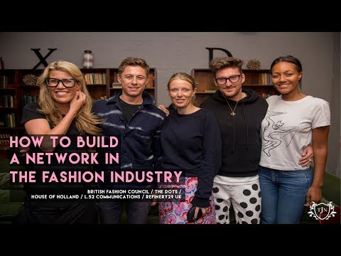 "The Junior Network - ""How to build a network in the fashion industry"""