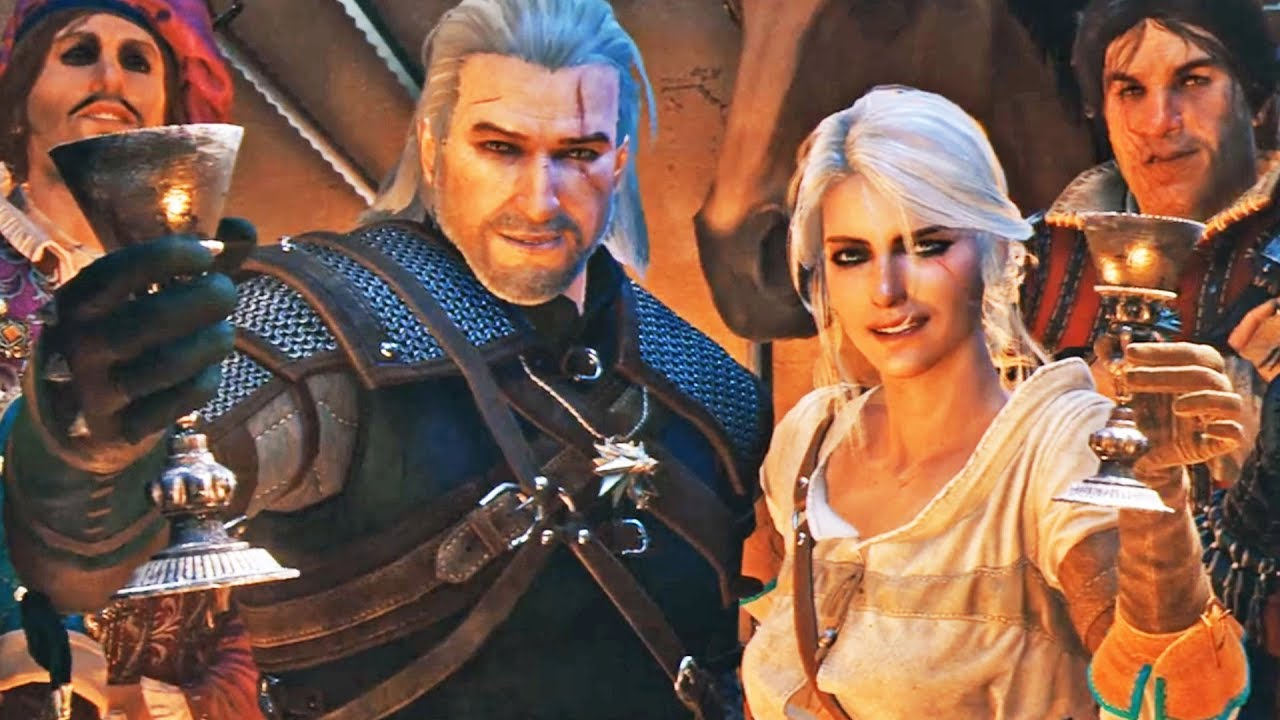 10th anniversary of the witcher trailer - youtube