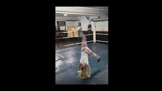 Гимнастика - как сделать сальто вперед (видео урок)
