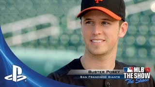 MLB 13 THE SHOW:  Buster Posey | :30 Commercial