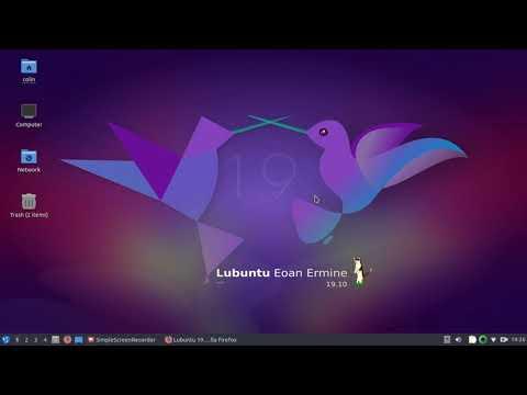 Lubuntu 19.10 Look Around