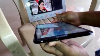 Iball slide 3G Q27 10 inch tablet unboxing and review.