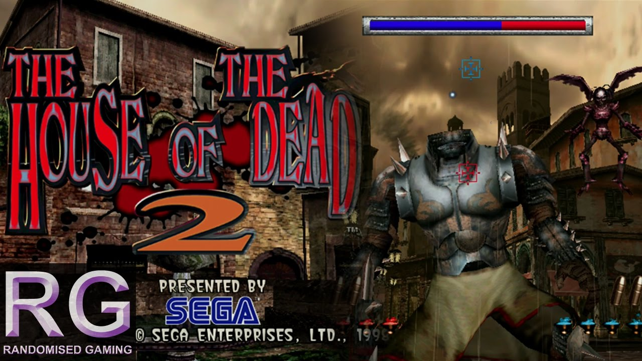 The House Of The Dead 2 Sega Dreamcast Arcade Playthrough In