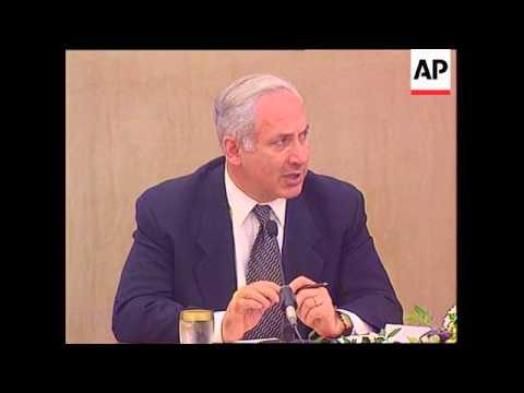 Jordan - Netanyahu meets with Jordan King