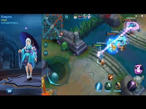 Mobile Legends - Burst DMG KAGURA Gameplay - Best Mager so far? Episode #13