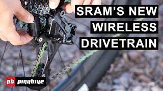 SRAM's Wireless Eagle AXS Drivetrain | First Look