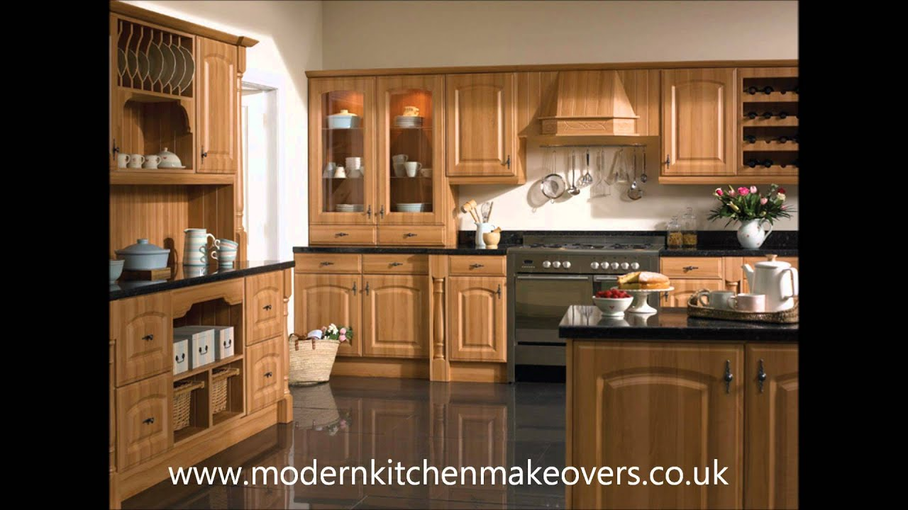 Bella Kitchen Doors Presented By Modern Kitchen Makeovers - YouTube