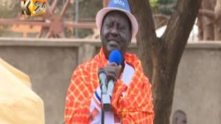NASA in Kajiado: Raila Odinga's Speech
