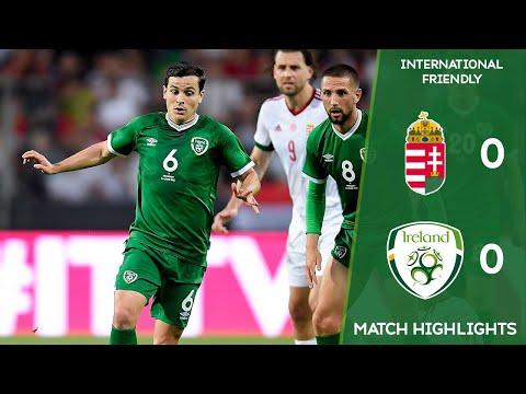 HIGHLIGHTS   Hungary 0-0 Ireland - International Friendly