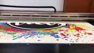 Прямая УФ печать на пвх UV печать на пластике в Спб