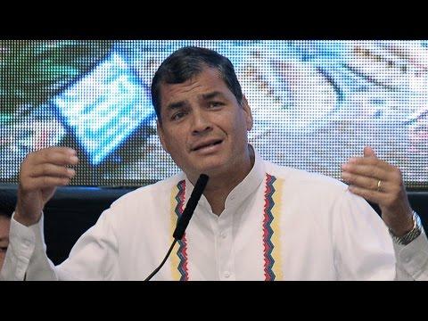 Rafael Correa responde ante burlas en twitter