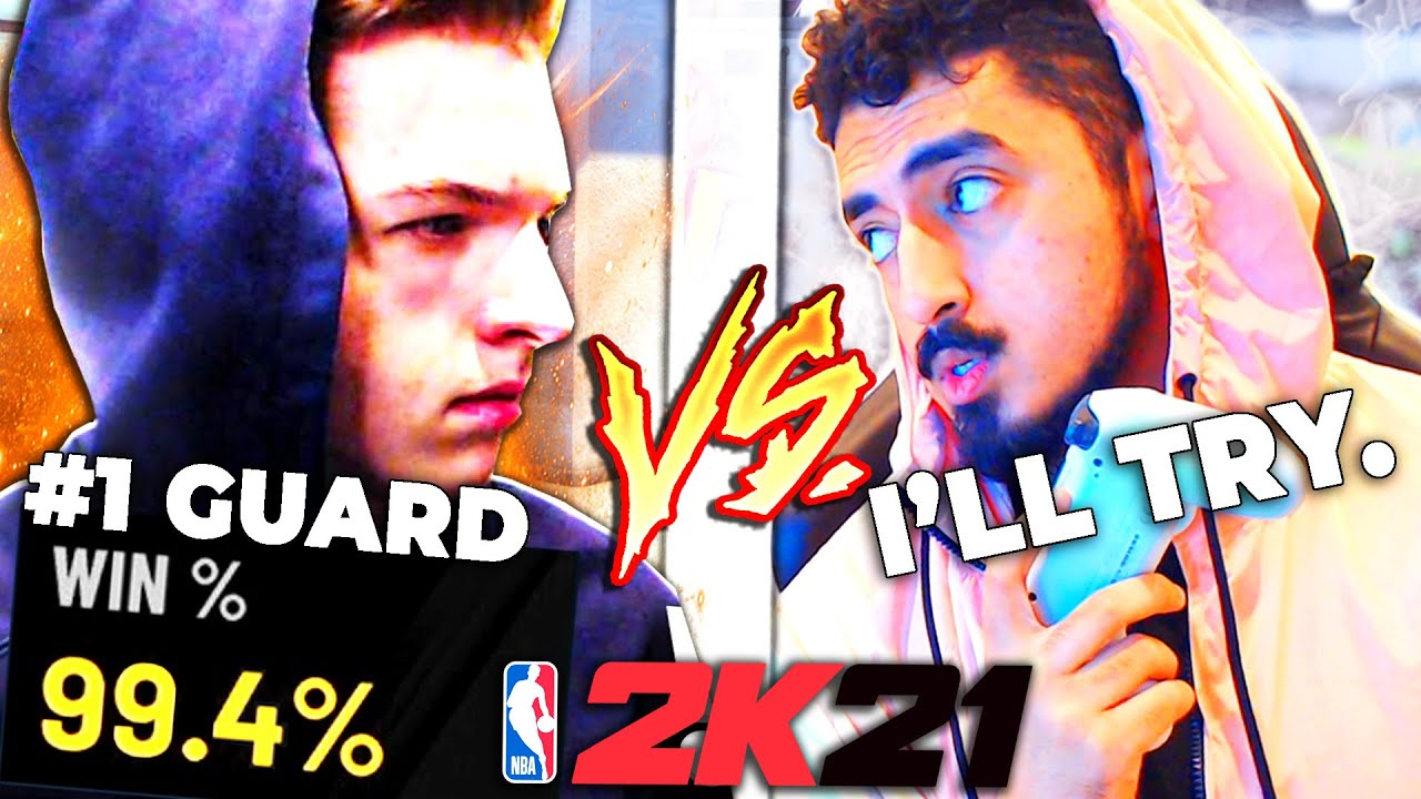 The World's Best Guard on NBA 2K21 challenged me for $1000, and I ACCEPTED!