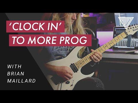 "Brian Maillard - Clock In (Full Playthrough From The Album ""Stabilized"")"