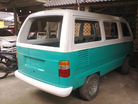 Suzuki Carry Modifikasi Mirip VW Kombi