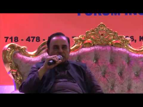 Dr Subramanian Swamy talks about Narendra Modi elevation in BJP Goa Summit