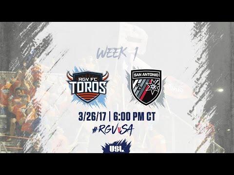 USL LIVE - Rio Grande Valley FC vs San Antonio FC 3/26/17