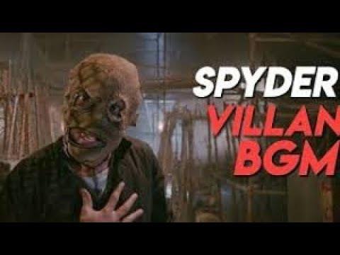 SPYder VILLAIN SJ SURYA  BGM ENTRY FULL HD AUDIO
