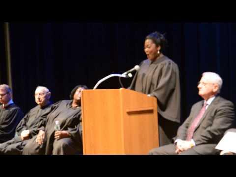 Amanda Ward  Swearing in Ceremony