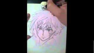 Speed Drawing -Setsuna・F・Seiei-
